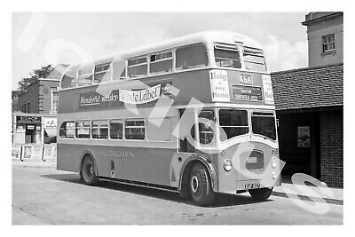 £1.20 • Buy Bus Photograph SOUTHDOWN MOTOR SERVICES XUF 857 [857] '62
