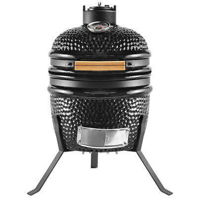 £129.99 • Buy Kamado Egg Ceramic Charcoal BBQ Barbecue Grill Roaster Smoker 13  Portable Stand