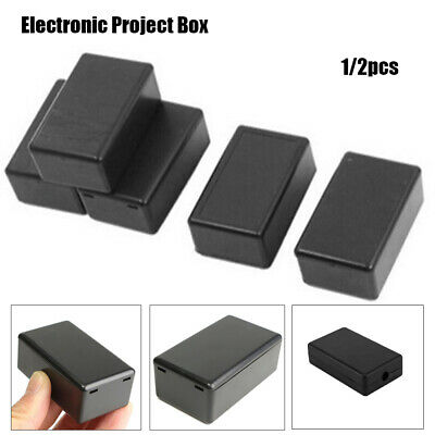 £3.92 • Buy Electronic Project Box Instrument Case Waterproof Cover Project Enclosure Boxes
