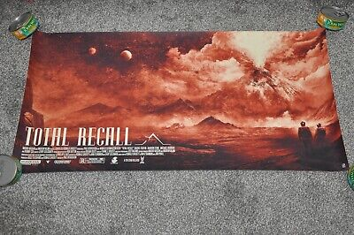 £35 • Buy Very Rare Total Recall Limited Edition Print Art Poster Mondo KARL FITZGERALD