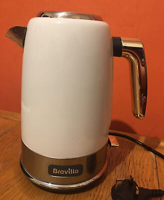 £15.99 • Buy Breville VKT142 New York Collection White / Gold Kettle Limescale Filter 3000