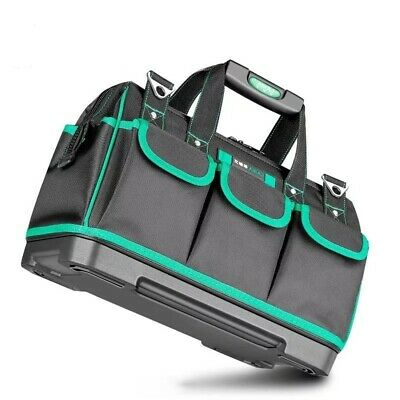 £39.47 • Buy Electrician Tool Kit Bag Box Case Collapsible Wear Resistant Hard Large Durable