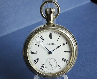 £145 • Buy 1901 Excellent WALTHAM Large 18s Gents Pocket Watch. Serviced & Working Antique