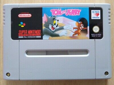 £13.49 • Buy Tom And Jerry - PAL - SNES - CART ONLY - WORKING - UKFREEPOST