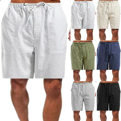 $15.59 • Buy Men's Cargo Shorts Elasticated Waist Casual Combat Pants Summer Holiday Trousers