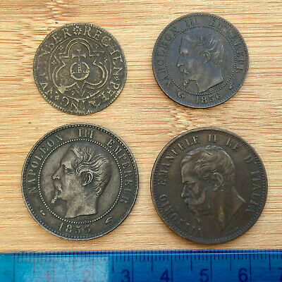 £2.20 • Buy 4x Mixed Foreign: France, Italy And A Jetton (ref #2)