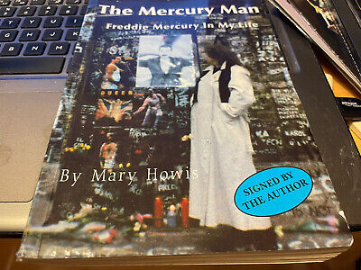 £23.50 • Buy Queen Freddie Mercury Paperback Mary Howis Signed By Author