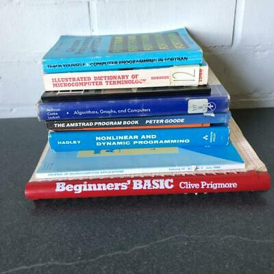 £29.99 • Buy Vintage Computer Early Books Pascal Linear Programming Pipelined Syntax CAD