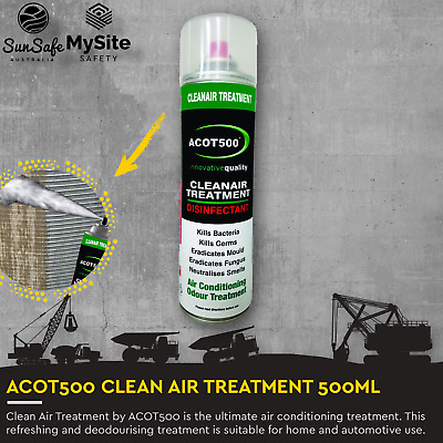 AU39.95 • Buy ACOT500 Clean Air Treatment Air Conditioner Cleaner For Home HVAC And Automotive