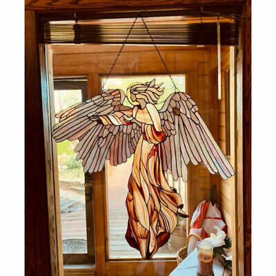 £10.99 • Buy Hanging Angel Wings Ornament For Home Wall Art Garden Decorative 30x29cm