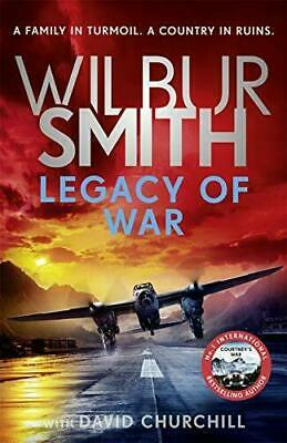 £9.95 • Buy Legacy Of War: The Action-packed New Book In The Courtn By Wilbur Smith New Book