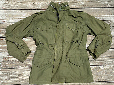 $78.89 • Buy M-65 US Army Field Jacket OG-107 Sateen 1969 Size SMALL REGULAR