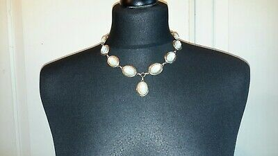 £35 • Buy Gold Plated Necklace With Wedgwood Style Cameos Lengh 19 Ins