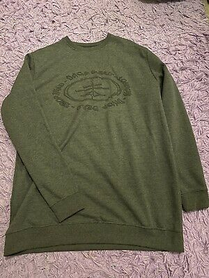 £42 • Buy Drop Dead Clothing Grey Sweatshirt XL New Without Tags