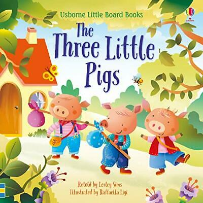 £5.37 • Buy The Three Little Pigs (Little Board Books) By Lesley Sims, NEW Book, FREE & FAST