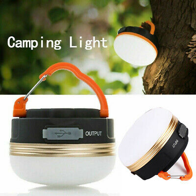 AU26.80 • Buy AU Portable Rechargeable LED Hiking Camping Tent Lantern Light USB Lamp Outdoor