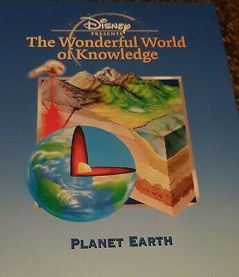 £8.25 • Buy Disney Presents The Wonderful World Of Knowledge PLANET EARTH Book