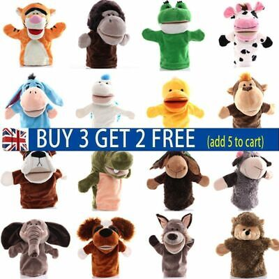 £6.54 • Buy 25 Styles Animal Hand Glove Puppet Soft Plush Puppets Kid Childrens Toy Funny