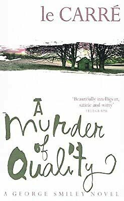 £3.26 • Buy A Murder Of Quality Ssa, Le Carr�  John, Used; Good Book