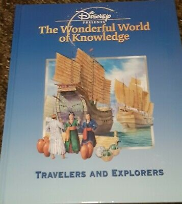 £5.75 • Buy Disney Presents The Wonderful World Of Knowledge Travellers And Explorers Book