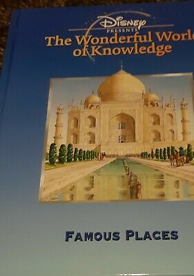 £4.25 • Buy Disney Presents The Wonderful World Of Knowledge FAMOUS PLACES