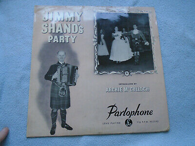 £6 • Buy Jimmy Shand's Party  Parlophone – PMD 1043  Vinyl, LP, 10