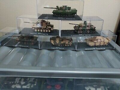 £15 • Buy Deagostini Model Tanks X  6 All Different. May Be Minor Scuffs To Boxes