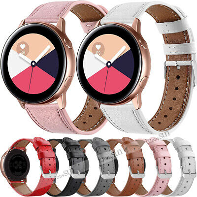 £9.55 • Buy Replacement Leather Watch Band Strap For Samsung Galaxy Watch Active 2 40mm/44mm
