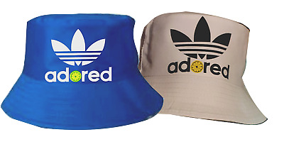 £10.99 • Buy Adored Bucket Hat, Stone Roses, Brown Mani, Squire Reni