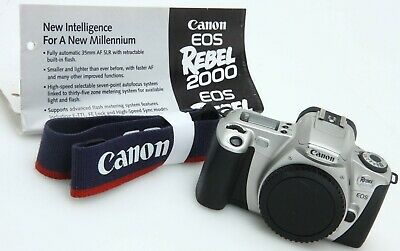 £16.25 • Buy Canon EOS Rebel 2000/EOS 300 35mm SLR Film Camera Body Only Tested 391395