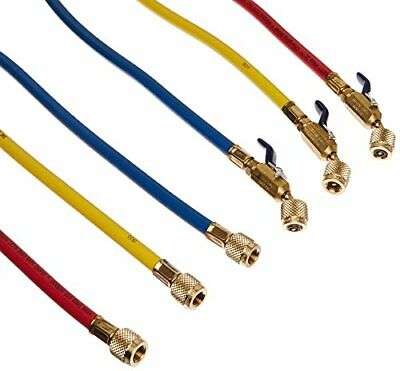 £108.62 • Buy Yellow Jacket GIDDS-505049 Charging Hose Set 60  With Compact Ball Valve