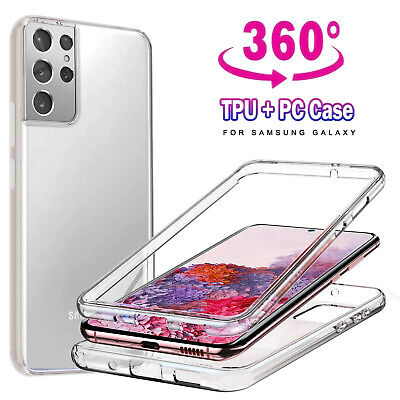 $ CDN5.97 • Buy For Samsung Galaxy S10 S20 S21 Plus S20 FE A12 Case Cover Clear Screen Protector