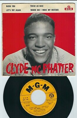 £7.07 • Buy R&B - Clyde McPhatter MGM EPF 42 Let's Try Again / Twice As Nice +2 ♫ 1959