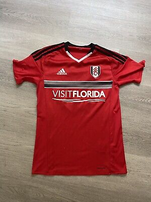 £8.95 • Buy Fulham Adidas Men's 2016 / 2017 Red Away Shirt - Size Small - Number 19
