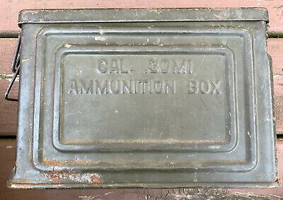 $39.99 • Buy Original WWII WW2 US Military Issue M1 30. Ammo Box Can