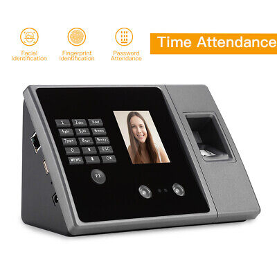 £66.29 • Buy Intelligent Face Time Attendance Reader Time Recorder Clock Employee Checking-in