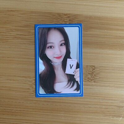 £4.45 • Buy Kpop Twice Official What Is Love Tzuyu Photocard