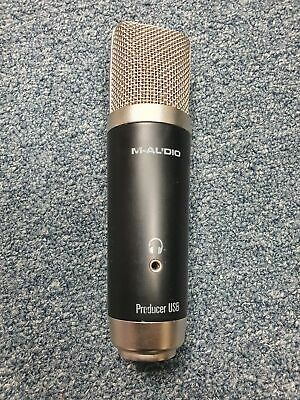 $35.99 • Buy M-Audio Producer USB Microphone Black Audio Mic For Recording, Audio Streaming