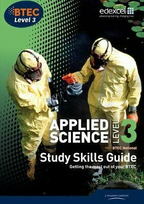 £3.09 • Buy (Good)-Applied Science, BTEC National: Level 3, Study Skills Guide (Paperback)--