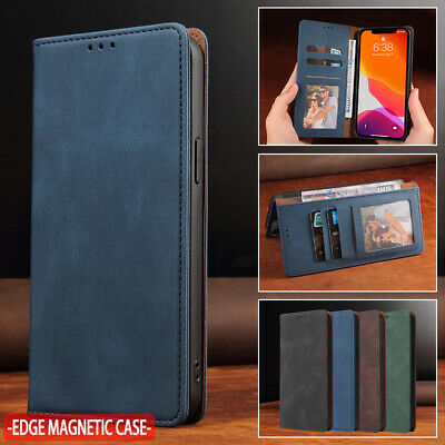 AU13.99 • Buy For IPhone 12 11 Pro Max 8 7 Plus XR XS Case Magnetic Leather Wallet Flip Cover