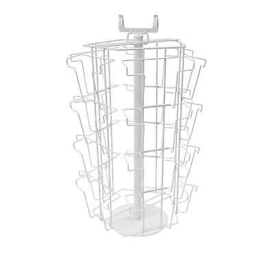 £61.51 • Buy Greeting Card Rotating C5 Pockets White Shop Counter Stand (20 Pocket) (K5/W)