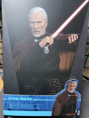 $ CDN559.03 • Buy Hot Toys MMS 496 Star Wars Attack Of The Clones Count Dooku Christopher Lee