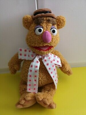 £12 • Buy Disney Store Stamped  The Muppets Fozzie Bear  Plush 16  Soft Toy