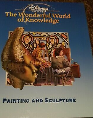 £7.75 • Buy Disney Presents The Wonderful World Of Knowledge Painting And Sculpture Book