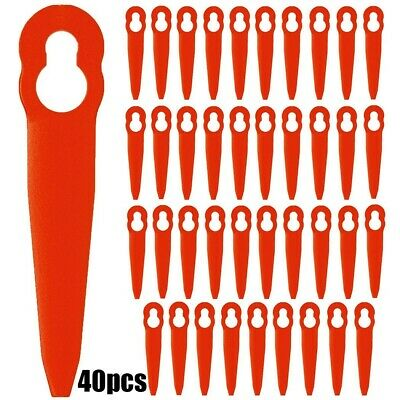 £7.71 • Buy 40 Plastic Blade For STIHL FSA 45  Cordless Strimmer Grass Trimmer Replacement