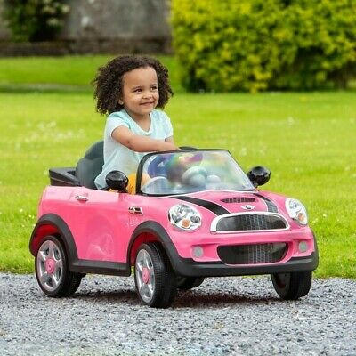 £38 • Buy Pink Mini Cooper 6V Electric Ride On