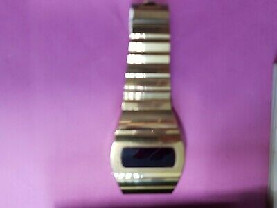 £49.99 • Buy Vintage Rotary Digital Red Led Watch For Parts From 70s 80 Spares Repair Retro.