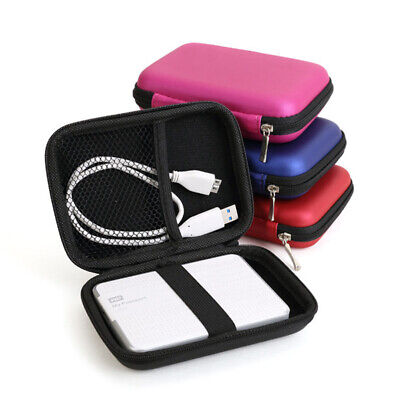 AU8.89 • Buy Hard Storage Carry Case Cover Pouch For PowerBank USB External Hard Disk Drive