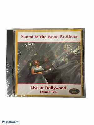 $ CDN12.58 • Buy Naomi & The Wood Brothers Live At Dollywood Volume 2 (New Sealed) *Cracked Case