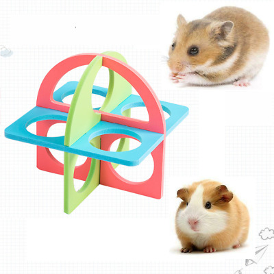 £3.98 • Buy New Hamster Ladder Sport Fitness Circle Small Pets Exercise Climb Activity Toys